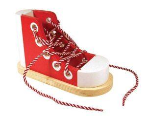 scarpa gioco in legno